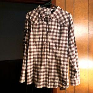 Harley-Davidson long sleeve blouse